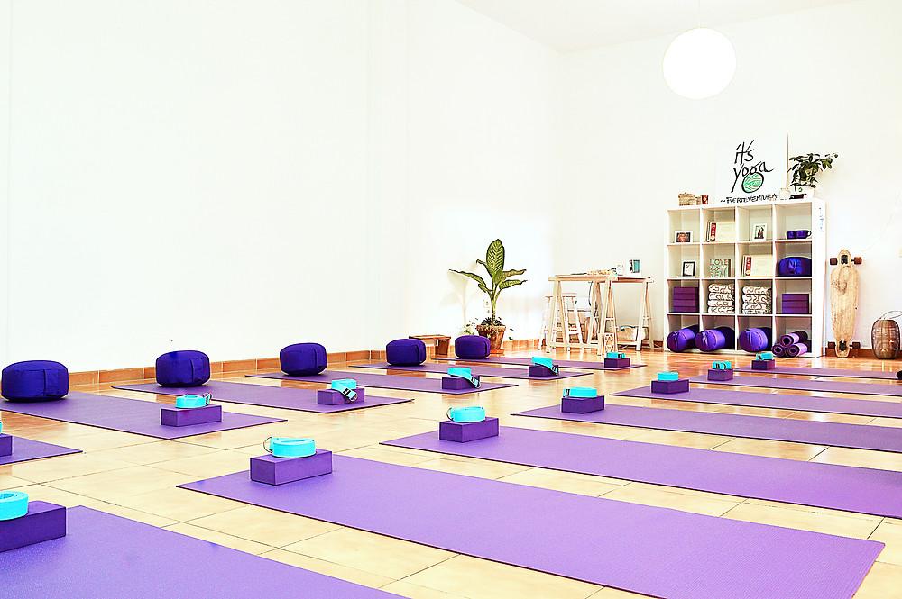 It's Yoga Fuerteventura, in Corralejo since 2015