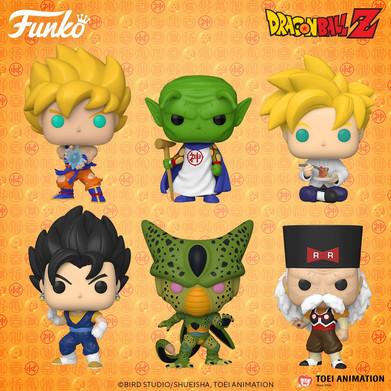 Novos POPs de Dragon Ball Z estão chegando