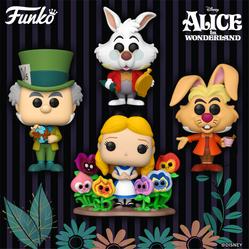 "Confira a nova wave de Funko POPs de ""Alice no País das Maravilhas"""
