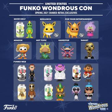Pré-vendas dos Funko POPs da WonderCon 2021 estão rolando na GG