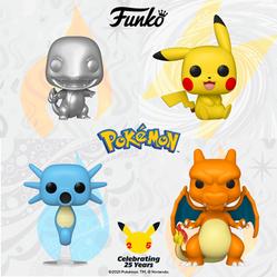 Nova wave de Pokémon é revelada pela Funko