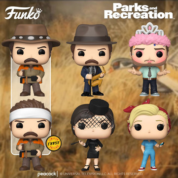 """Olha só! Novos POPs de """"Parks & Recreation"""" serão lançados pela Funko"""