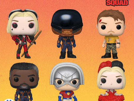 Funko anuncia POPs de Suicide Squad e Spider Man: No Way Home