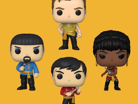 UAU! Funko vai lançar novos POPs de Star Trek