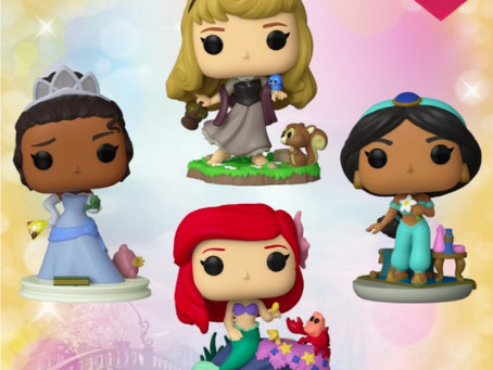 """Funko POPs da linha """"Ultimate Princess"""" estão à venda na GG"""