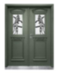דלת במרכז יפה במיוחד