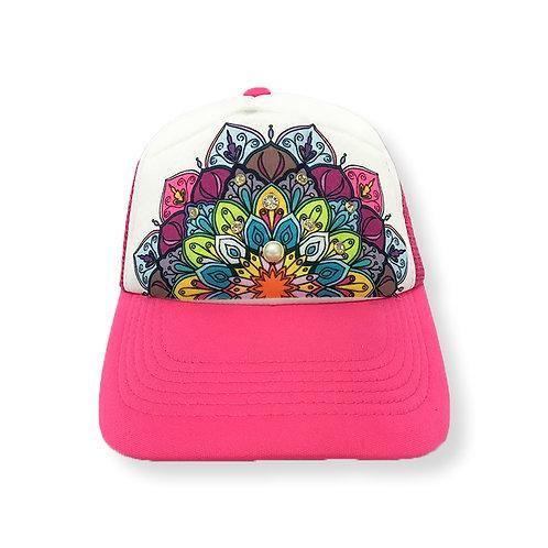 Neon Pink Mandala
