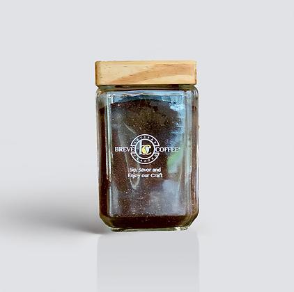 Brevé Coffee Glass Storage Jar