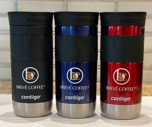 Brevé Coffee Contigo 16 oz Thermal Mug