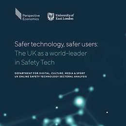 Safer technology, safer users: The UK as a world-leader in Safety Tech