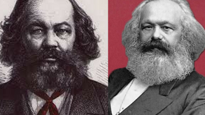Bakunin versus Marx: são os meios que justificam os fins.