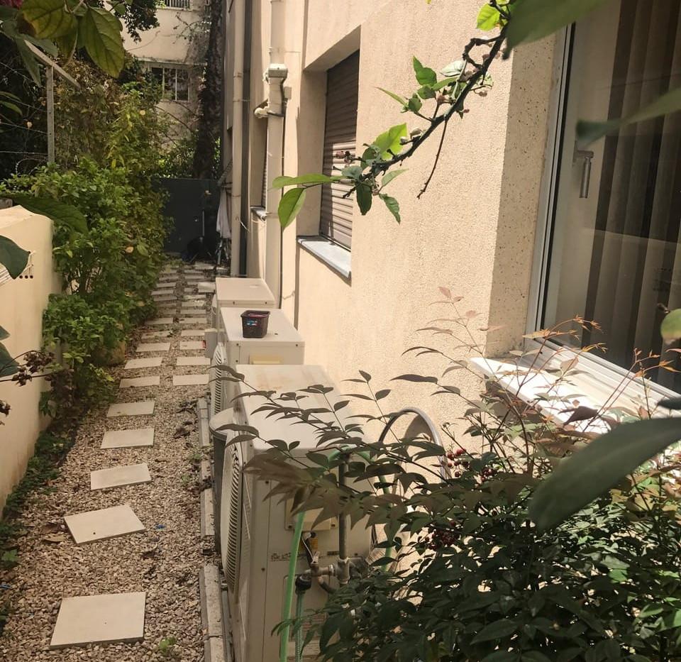 לב תל אביב - דירת גן מרווחת