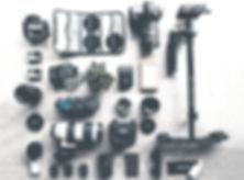 札幌の映像制作会社 ランドリーグラフィックスマーケットの機材
