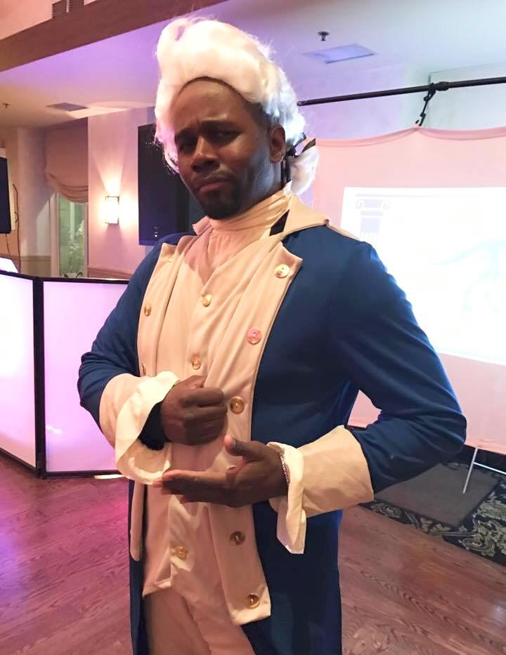George Washington at A Bar Mitzvah