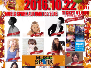 10月22日浜松LIVE