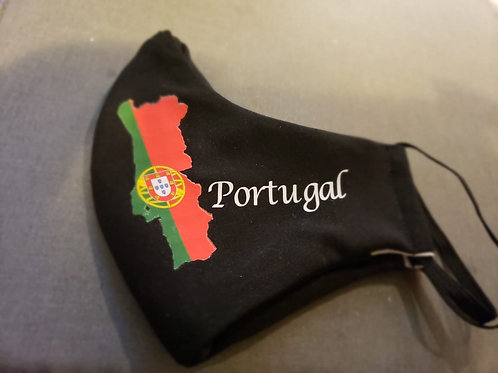Portugal Flag and Letters