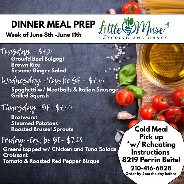 Dinner Meal Prep 68 -611 - Made with Pos