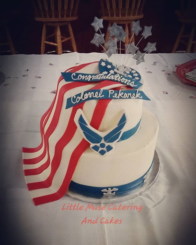 Congratulations Colonel! #military #airforce #promotion ceremony_#custom #cake #sanantonio  #littlem