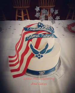Congratulations Colonel! #military #airforce #promotion ceremony_#custom #cake #sanantonio  #littlem