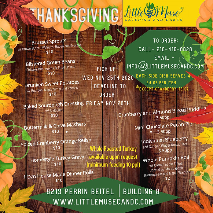 Thanksgiving Dinner Deals - Made with Po