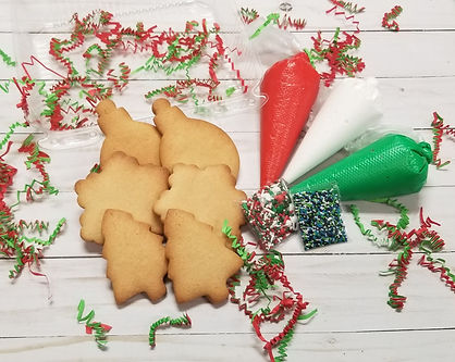 Christmas Decorate Your Own Cookies