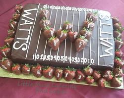 #chocolates #ganache #chocolatecoveredstrawberries #football #groomscake #customcakes #sanantoniowed