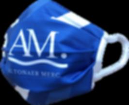Bedruckte Alltagsmaske für B2B Kunden zur Ausstattung der Mitarbeiter