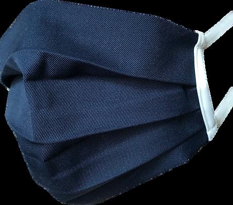 Alltagsmaske aus Baumwolle in Blau mit Polypropylen gegen Corona für Geschäftskunden B2B