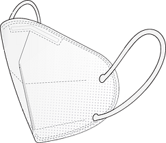 Atemschutzmaske FFP2 mit Zertifizierung