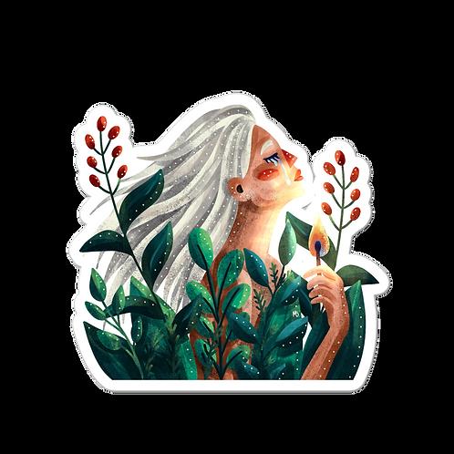 The Little Match Girl - sticker