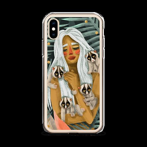 Hugged - iPhone Case