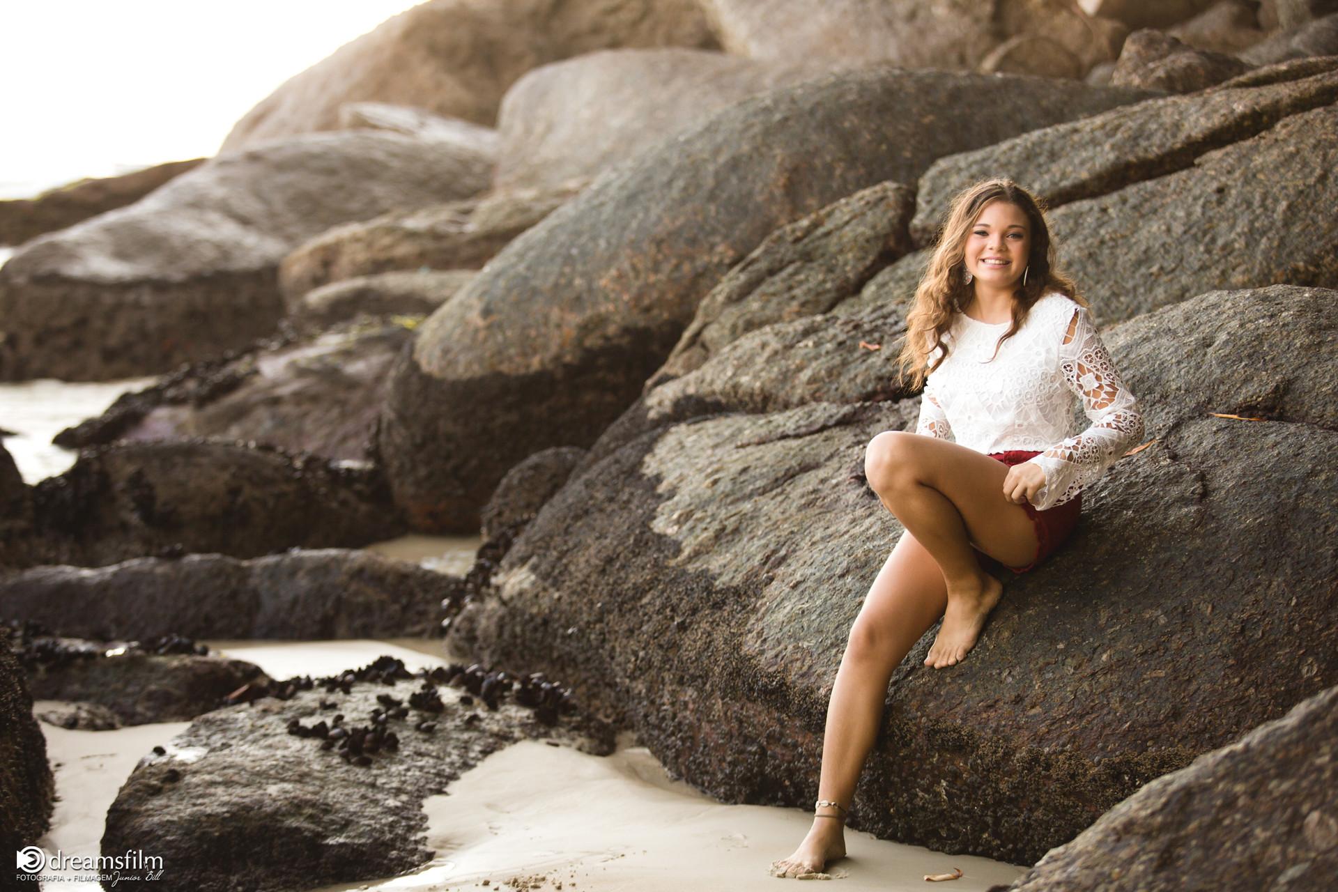 ensaio de 15 anos na praia