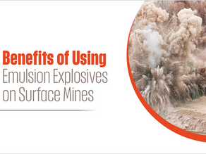 Benefits of Using Emulsion Explosives on Surface Mines