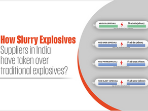 How Slurry Explosives Suppliers in India have taken over traditional explosives?