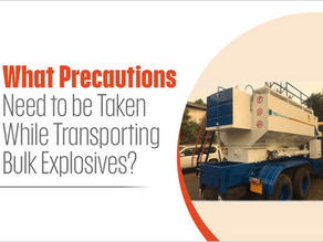 What Precautions Need to be Taken While Transporting Bulk Explosives