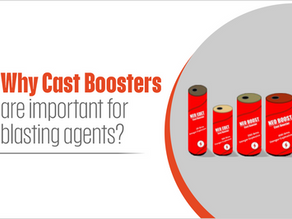 Why Cast Boosters are important for blasting agents?