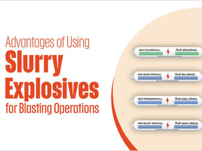 Advantages of Using Slurry Explosives for Blasting Operations