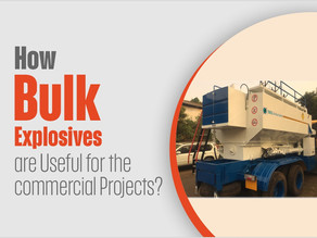 How Bulk Explosives are Useful for the Commercial Projects?