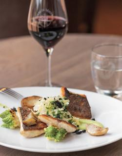 Repas bistronomie, locavore, provence