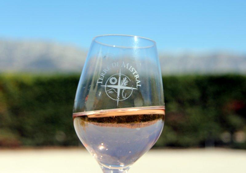 vin rosé sainte victoire