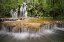 La cascade enchantée...