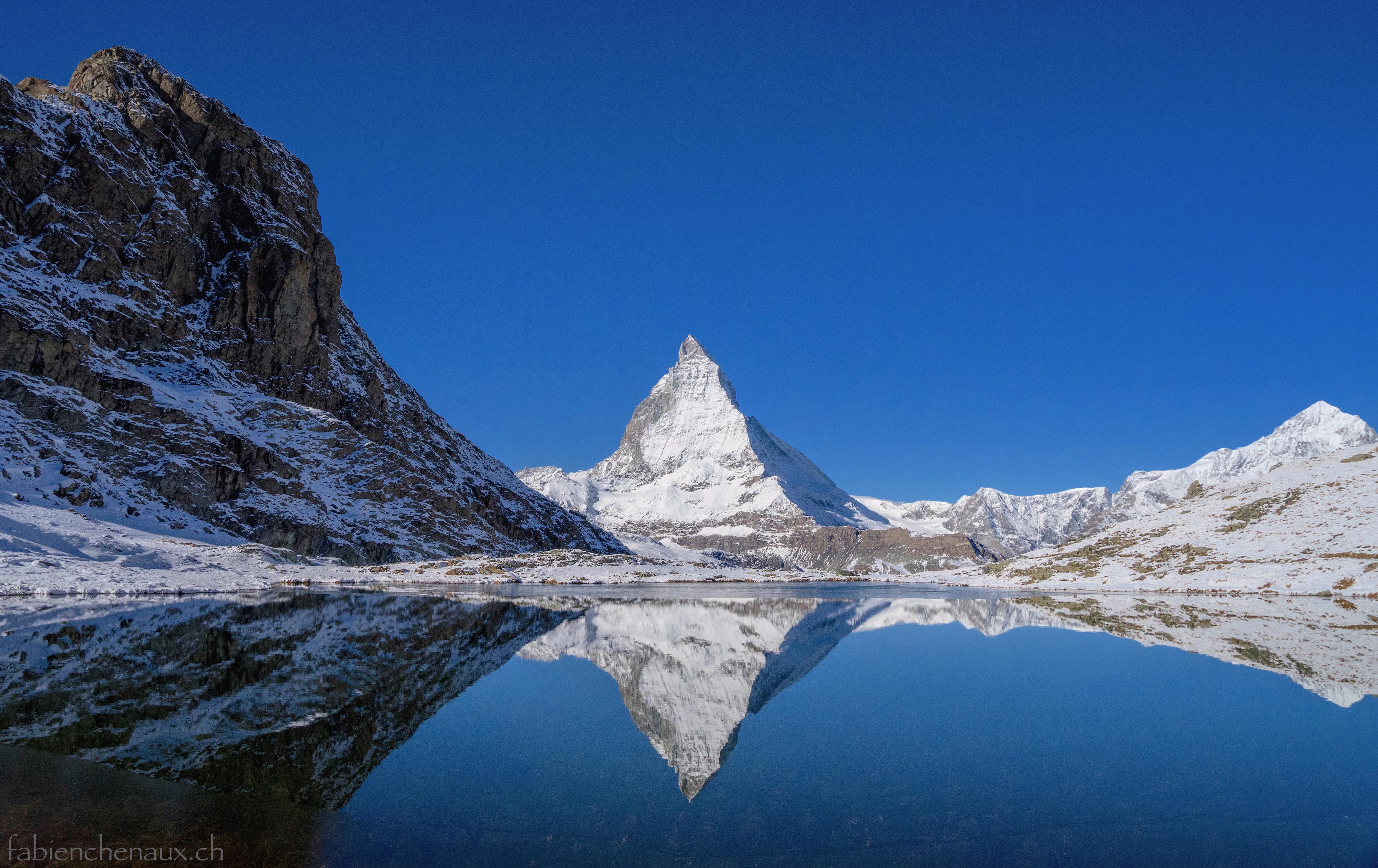 Pure réflexion alpine...