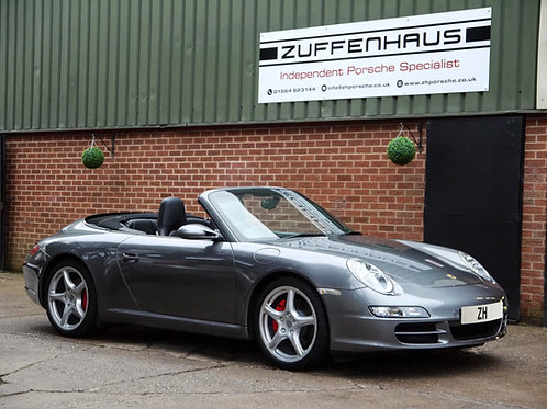 Porsche 997 Carrera 2S Cabriolet - NOW SOLD