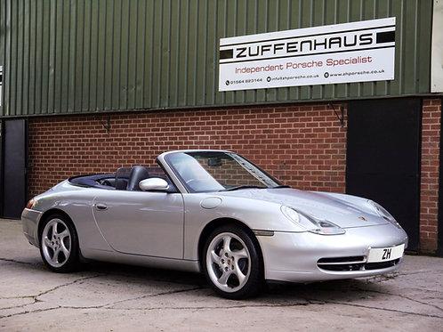 Porsche Carrera 4 Convertible - NOW SOLD