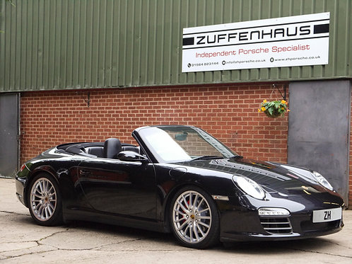 Porsche 997 Carrera 4S convertible - NOW SOLD