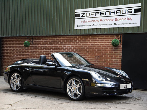 Porsche 997 Carrera 2 Cabriolet - NOW SOLD