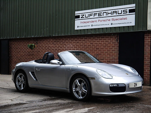 Porsche Boxster 987 2.7 - NOW SOLD