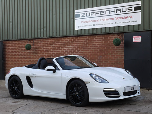 Porsche Boxster 981 - NOW SOLD