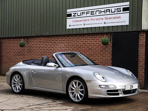 Porsche 997 Carrera 4S Cabriolet - NOW SOLD