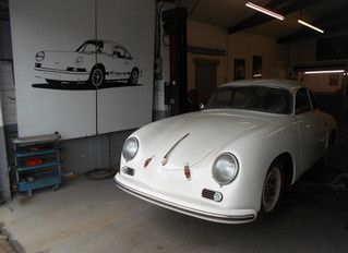 356A coupe replica build